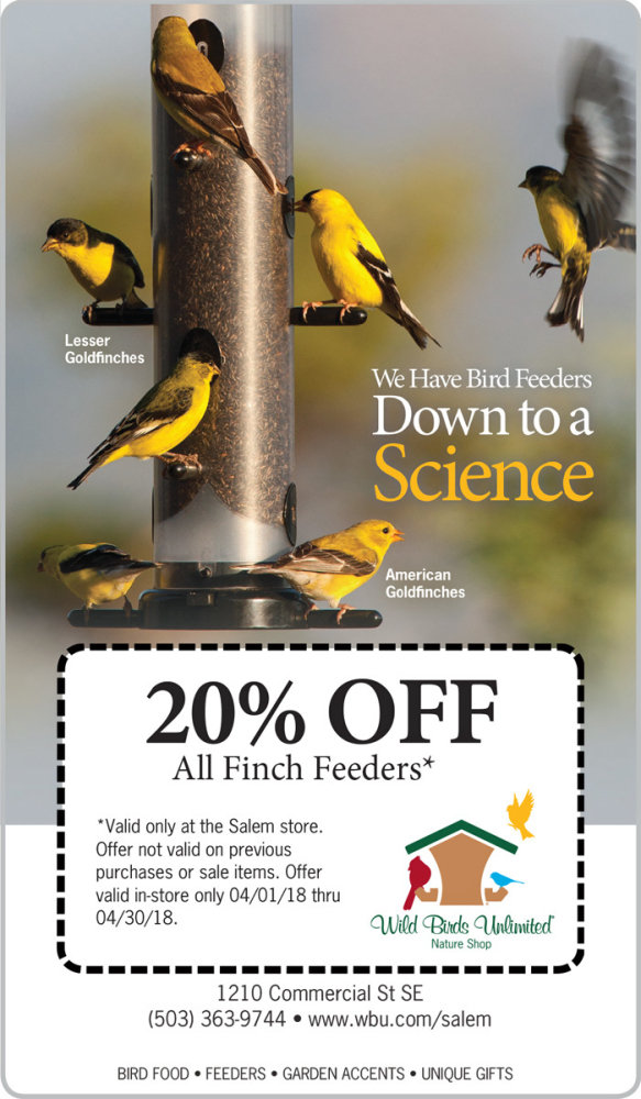 20% OFF ALL FINCH FEEDERS